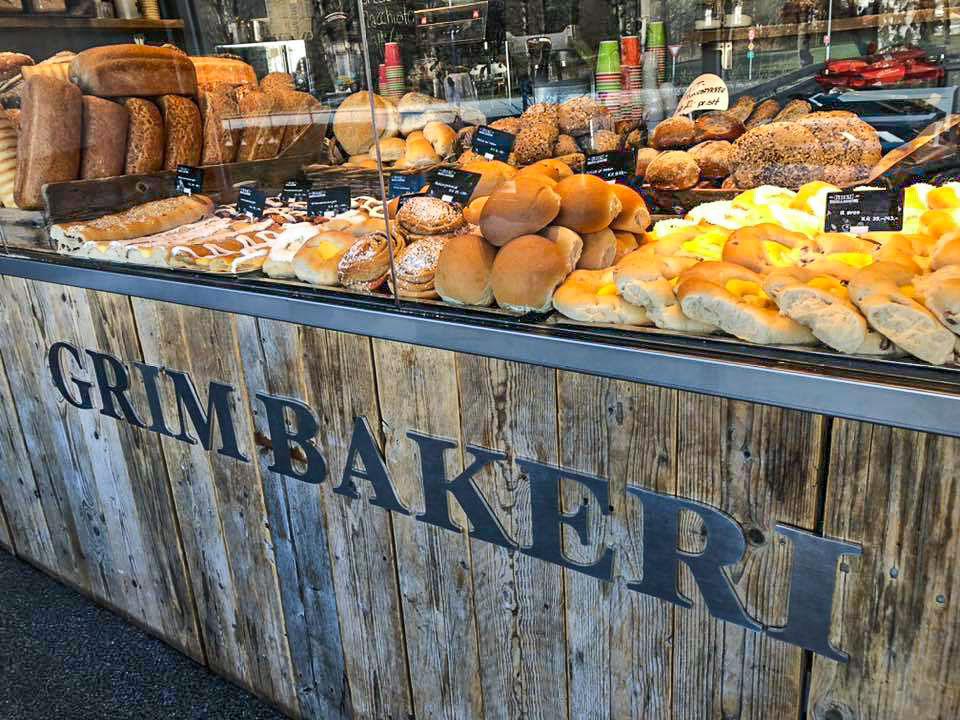 Lokalt bakeri på Grim